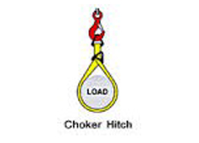 Used in a vertical , basket or choker hitch.
